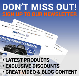 Sign up to the Park Cameras newsletter
