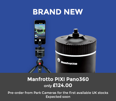 New Panoramic Rotating Head from Manfrotto